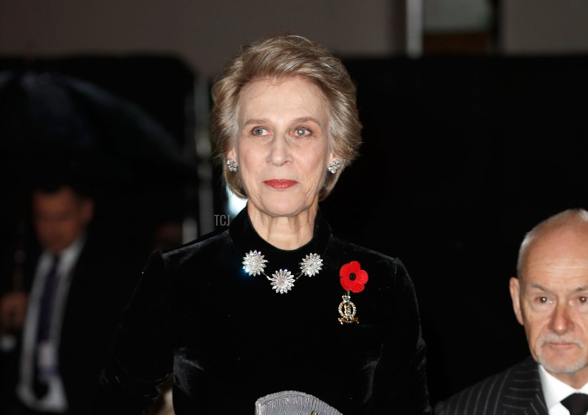 Birgitte, Duchess of Gloucester attends the Royal British Legion Festival of Remembrance at the Royal Albert Hall on November 10, 2018 in London, England