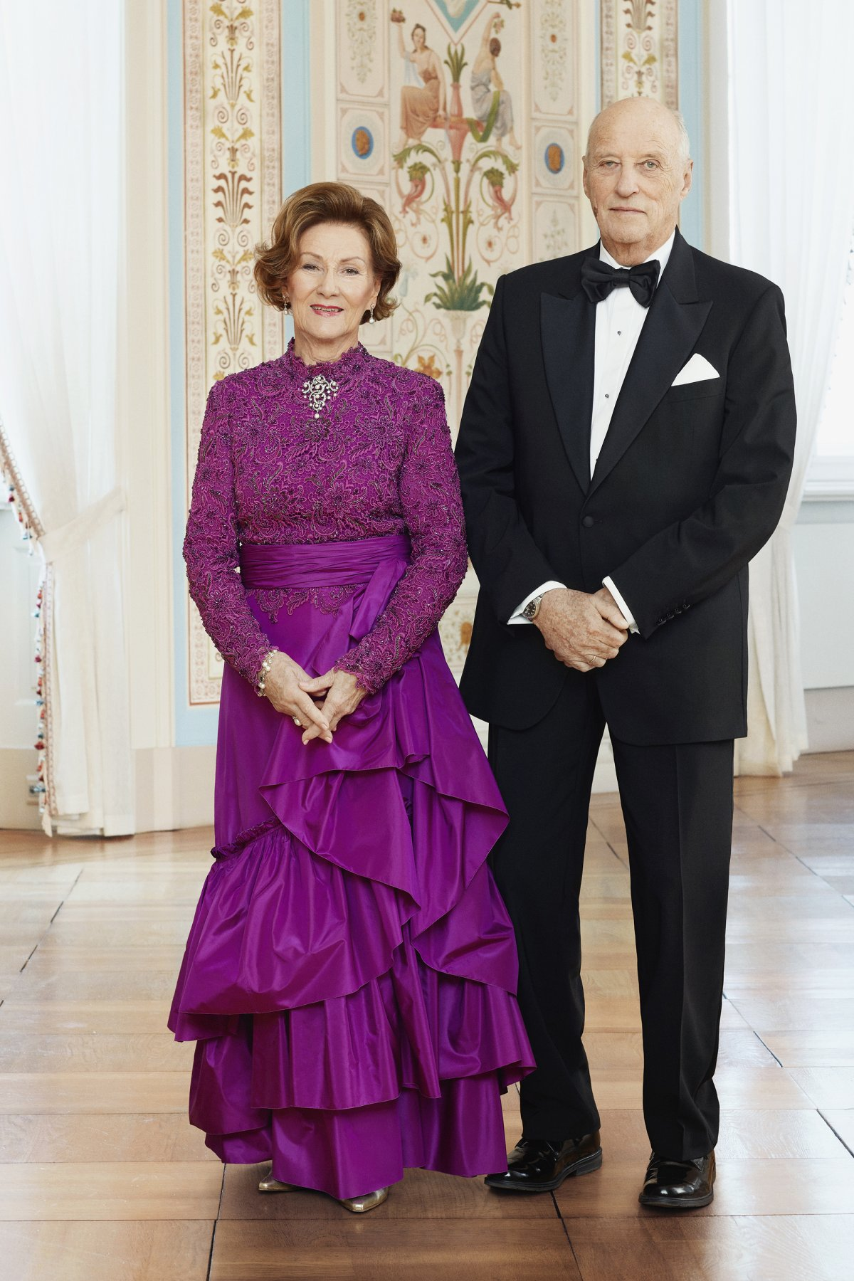 Portraits taken to mark the 30th anniversary of King Harald V of Norway's accession to the throne