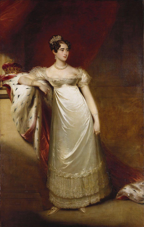 William Beechey: Augusta, Duchess of Cambridge (1797-1889)