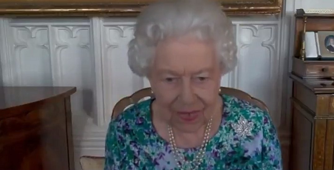 The Queen speaks to Ms. Mary Simon who has recently been appointed as the next Governor General of Canada, 22 Jul 2021
