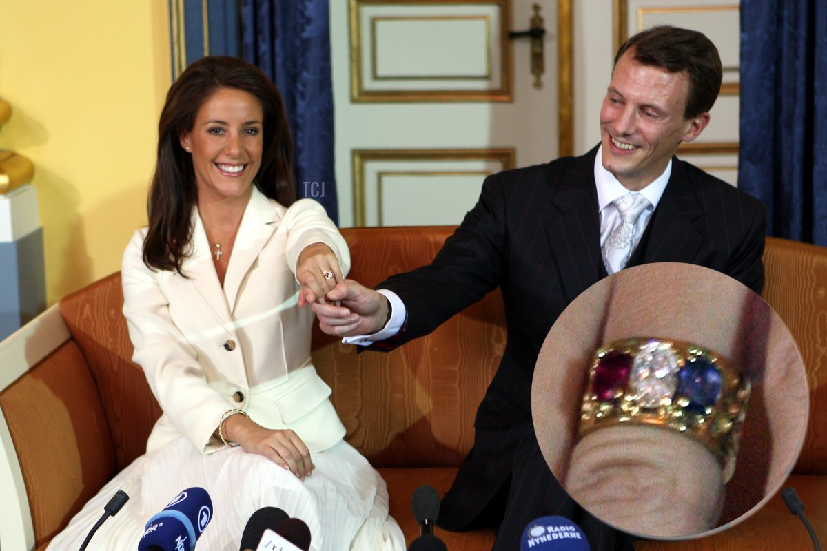 Prince Joachim of Denmark announces his engagement to Miss Marie Cavallier, during a press conference at the Riddersalen (Great Hall) of the Amalienborg Palace on October 3, 2007 in Copenhagen, Denmark