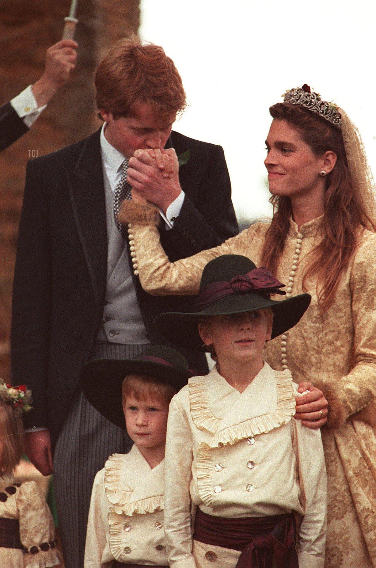 Viscount Althorp marries Victoria Lockwood, 1989
