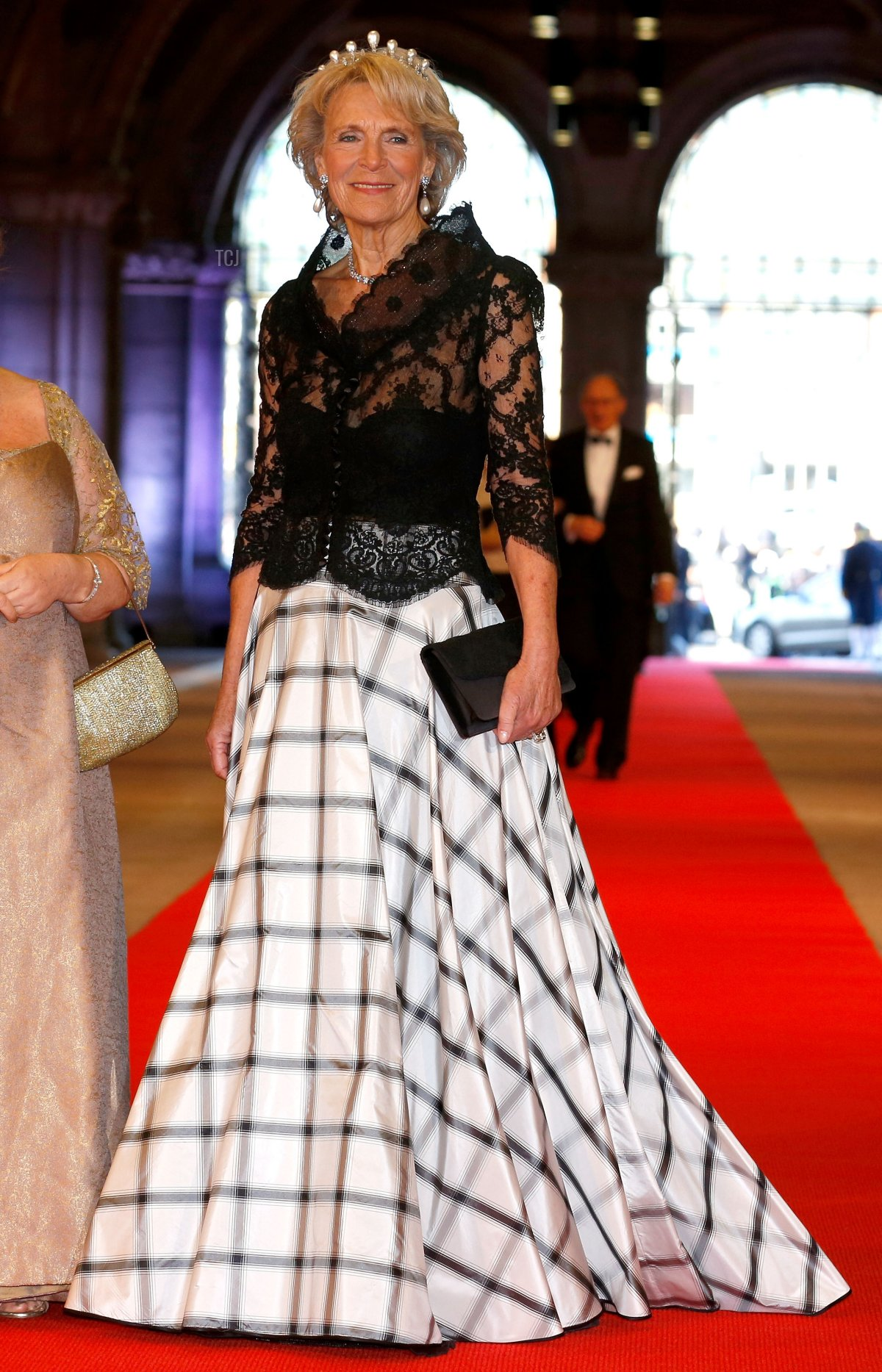 Princess Irene of the Netherlands attends a dinner hosted by Queen Beatrix of The Netherlands ahead of her abdication in favour of Crown Prince Willem Alexander at Rijksmuseum on April 29, 2013