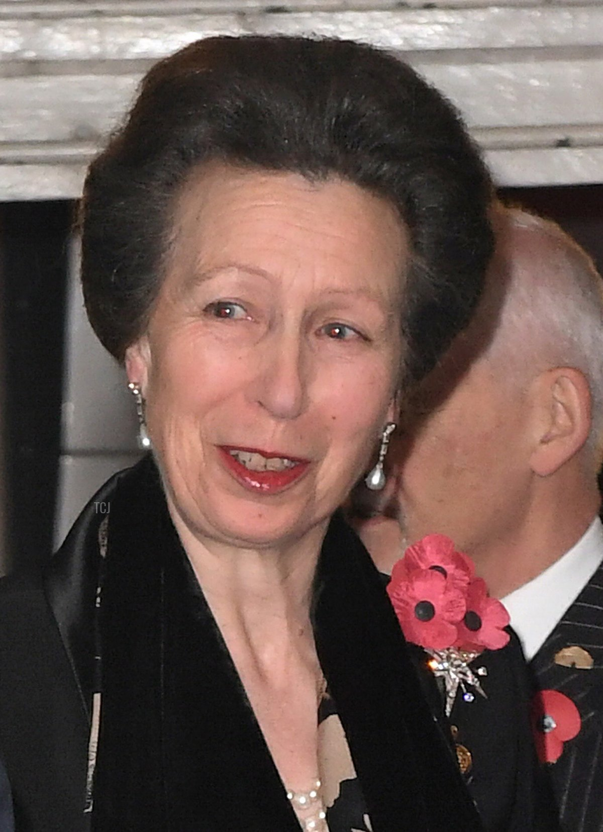 Britain's Princess Anne, Princess Royal arrives at the Royal Albert Hall for the annual Royal Festival of Remembrance in central London on November 12, 2016