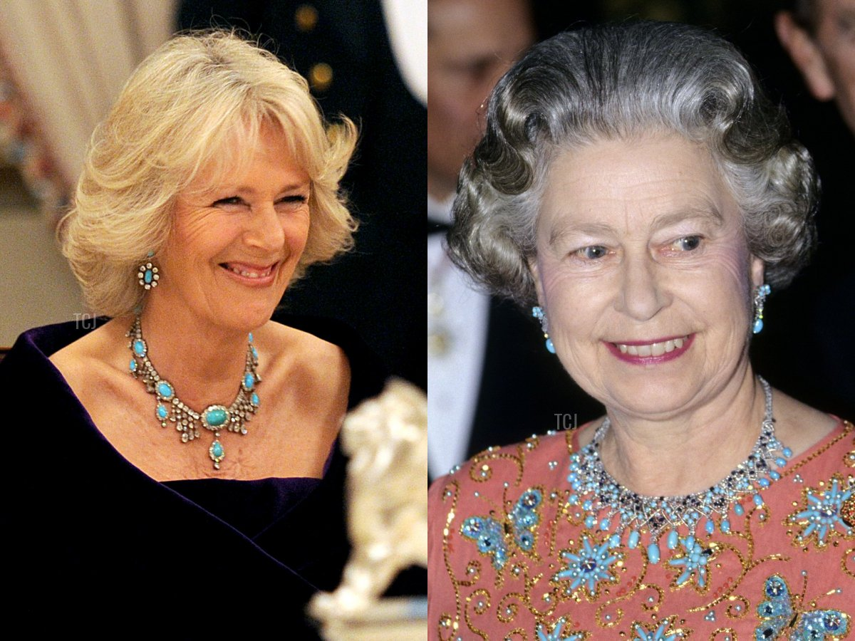Camilla's Turquoise Necklace, The Jordanian Turquoise Necklace