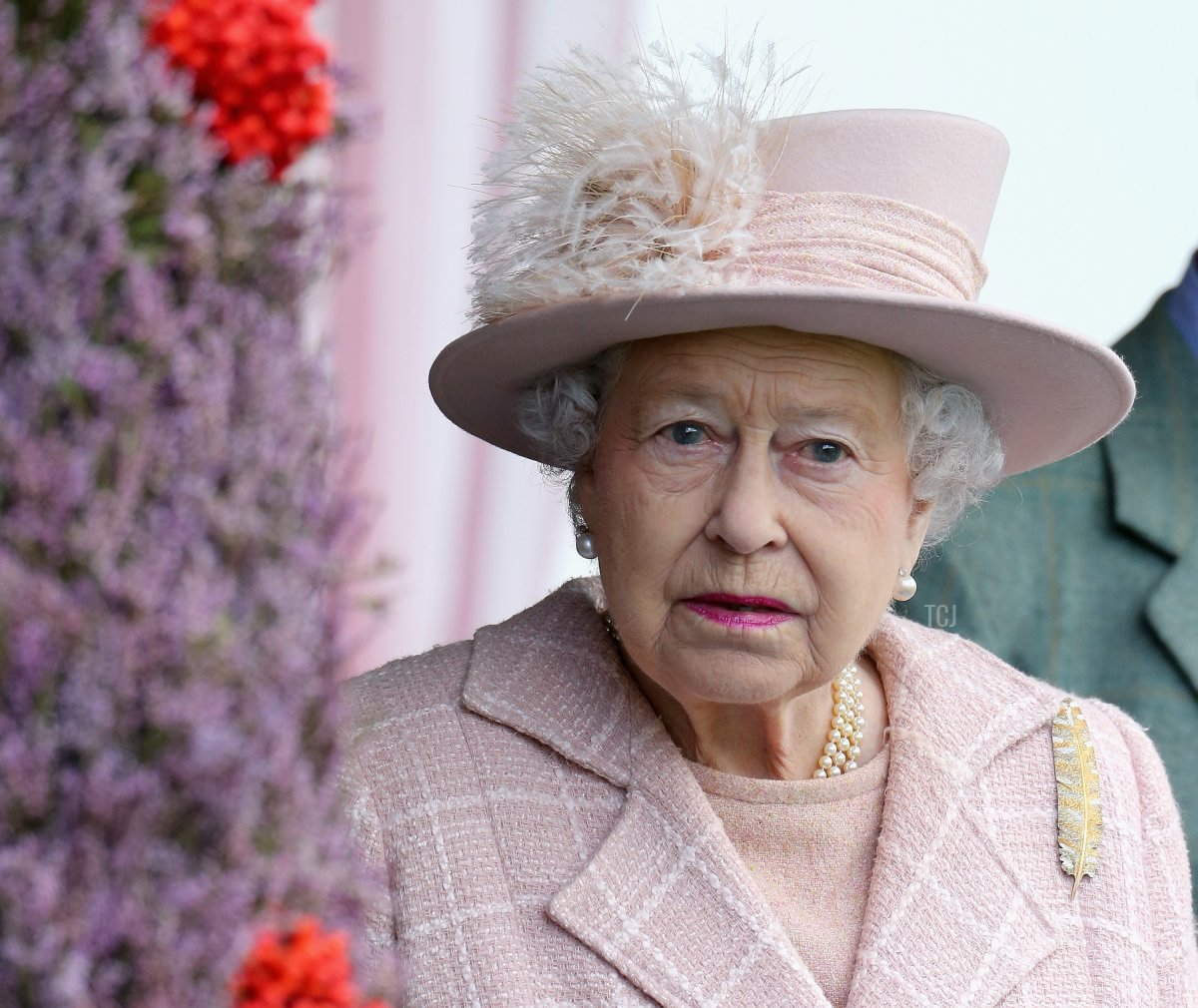Queen Elizabeth II attends the annual Braemer Highland Games at The Princess Royal and Duke of Fife Memorial Park on September 7, 2013 in Braemar, Scotland