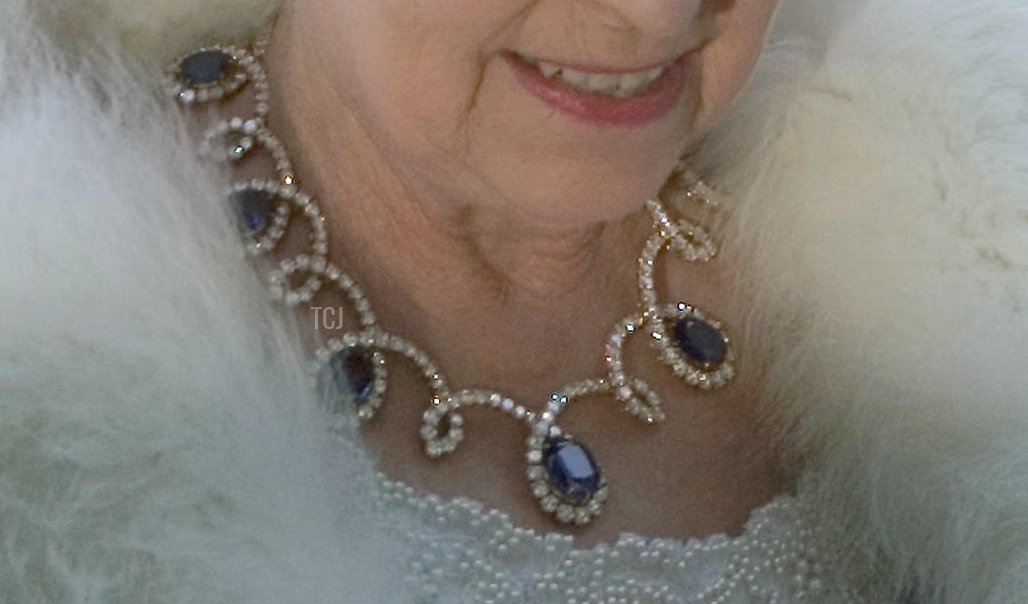 The Dubai Sapphire Necklace