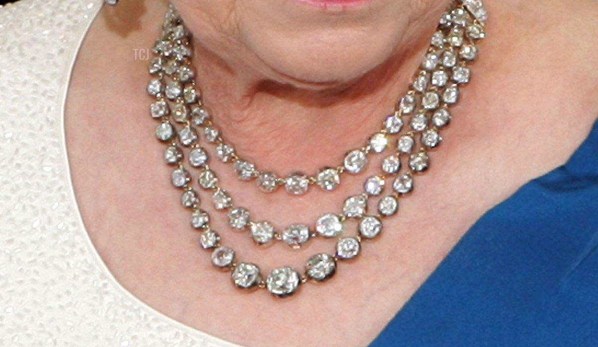 Queen Elizabeth II's Diamond Festoon Necklace