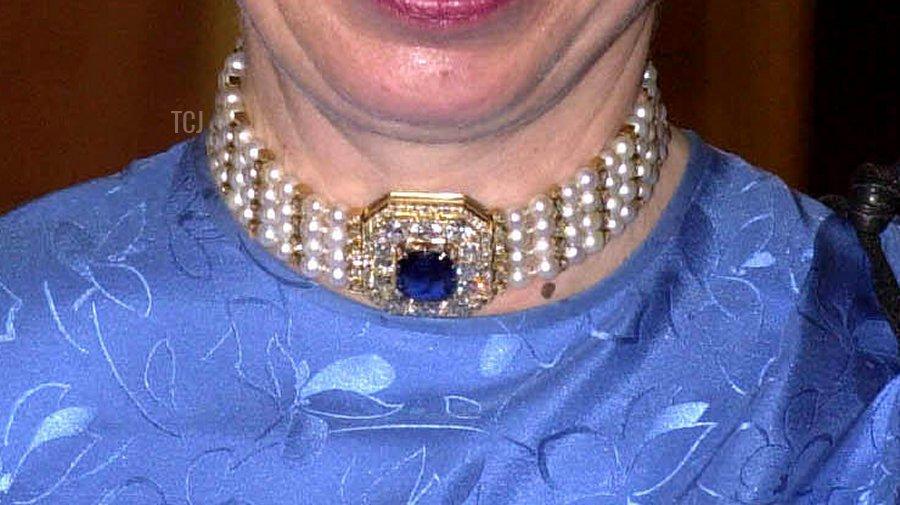 Marie Feodorovna's Pearl & Sapphire Choker