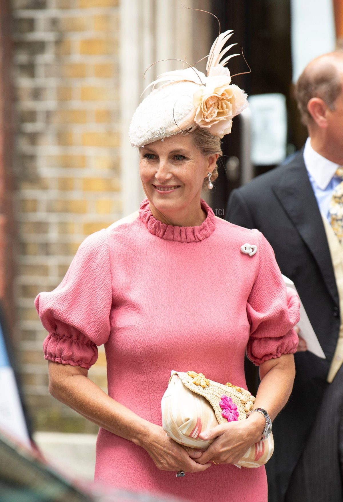 September 10, 2021, London, UK Sophie, Countess of Wessex at the Wedding of Flora Ogilvy and Timothy Vesterberg