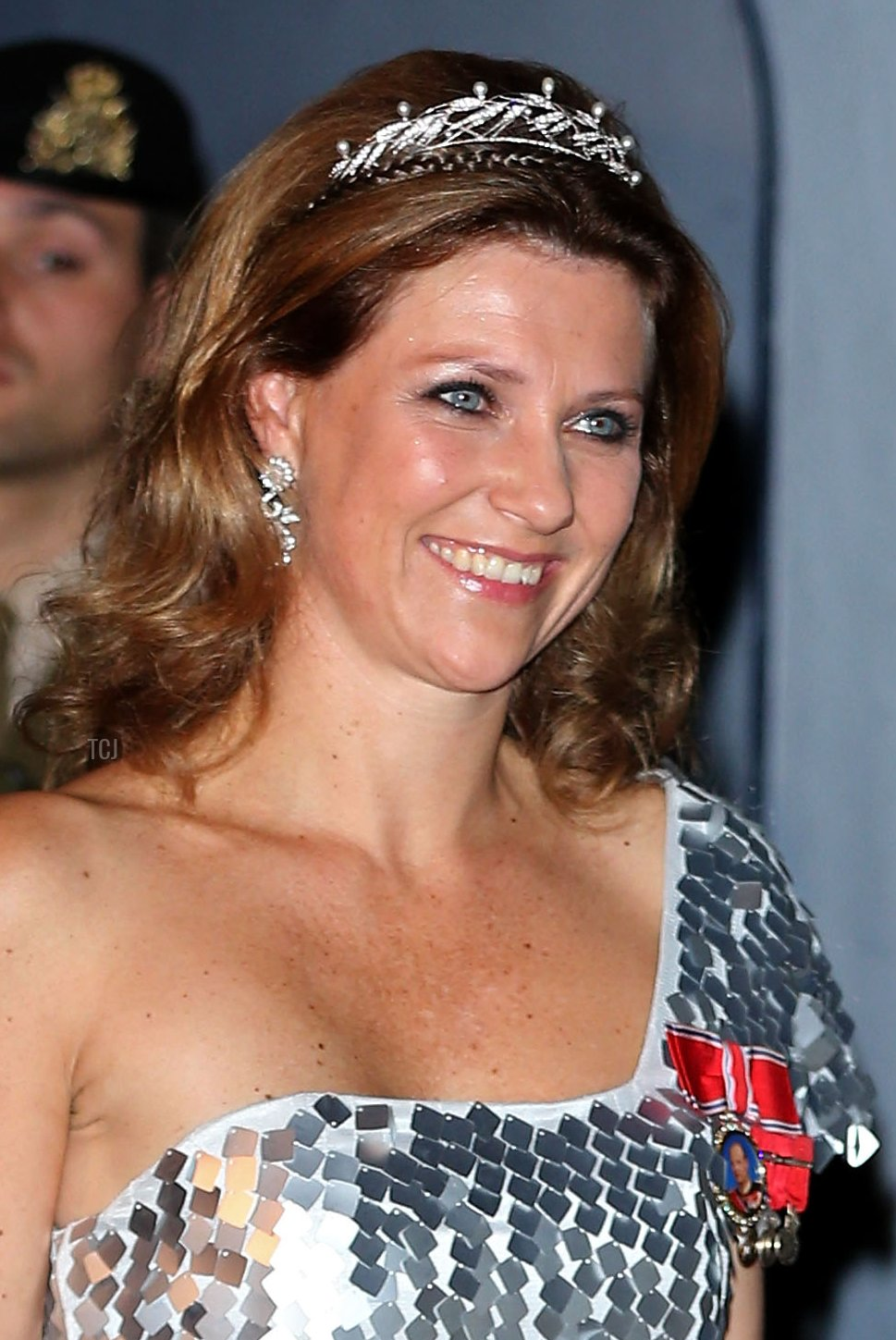 Princess Martha Louise of Norway attends the Gala dinner for the wedding of Prince Guillaume Of Luxembourg and Stephanie de Lannoy at the Grand-ducal Palace on October 19, 2012 in Luxembourg, Luxembourg