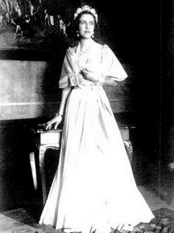 Princess Mathilde Kinsky of Wchinitz and Tettau
