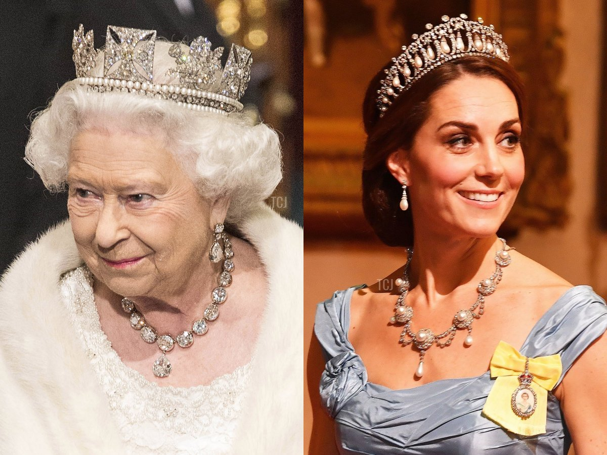 The Coronation Necklace and Queen Alexandra's Wedding Necklace