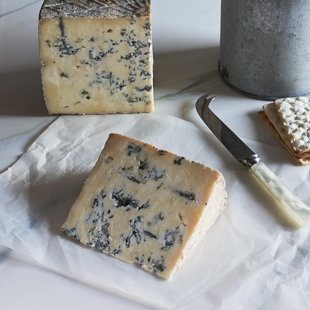 Devon Blue Cheese Modern British Blue Flinty Sweet And