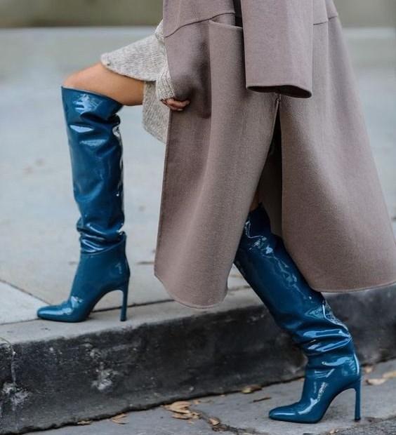 Πώς να φορέσεις μπότες πάνω από το γόνατο