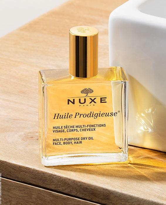 Nuxe Huile Prodigieuse Multi-Purpose Dry Oil Face, Body, Hair