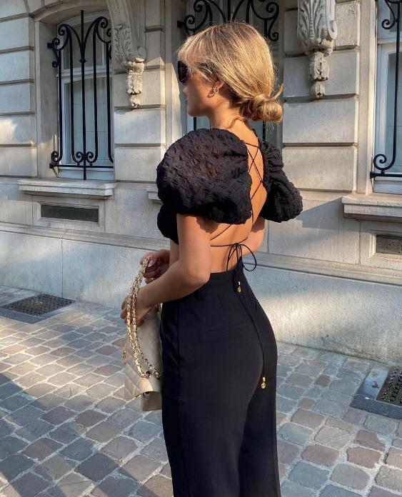 Hot συνδυασμοί με μαύρο παντελόνι 2021 - The Cover