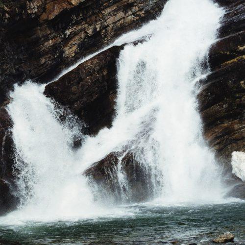 Cameron Falls, Waterton