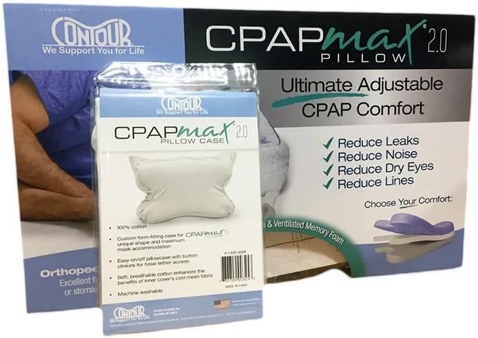 contour cpapmax 2 0 pillow