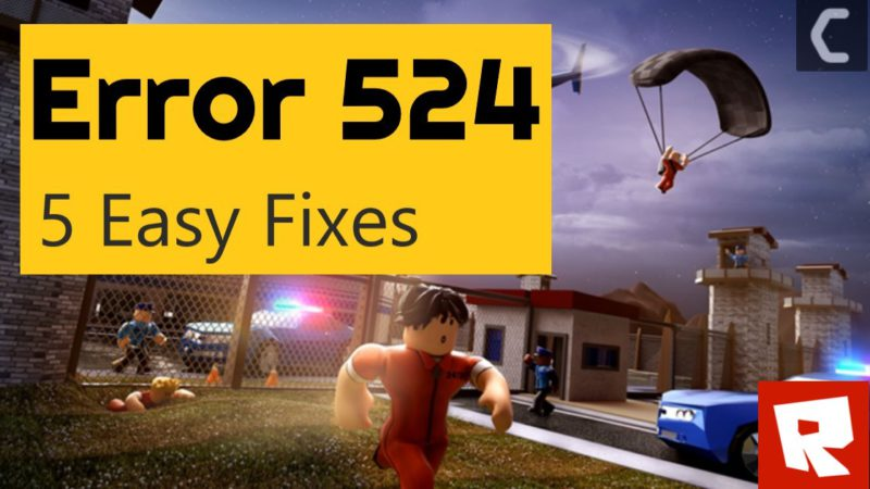 roblox error 524 code join authorized