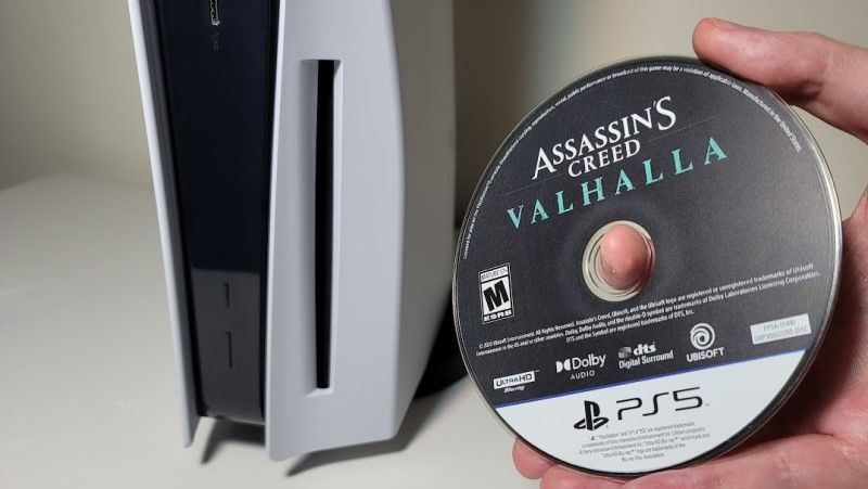 insert disk into ps5 | PS5 Won't Turn On