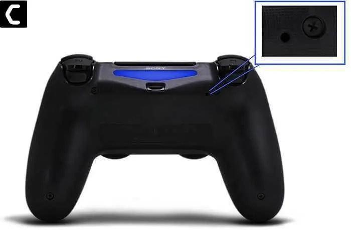 PS5 controller L2 BUTTON
