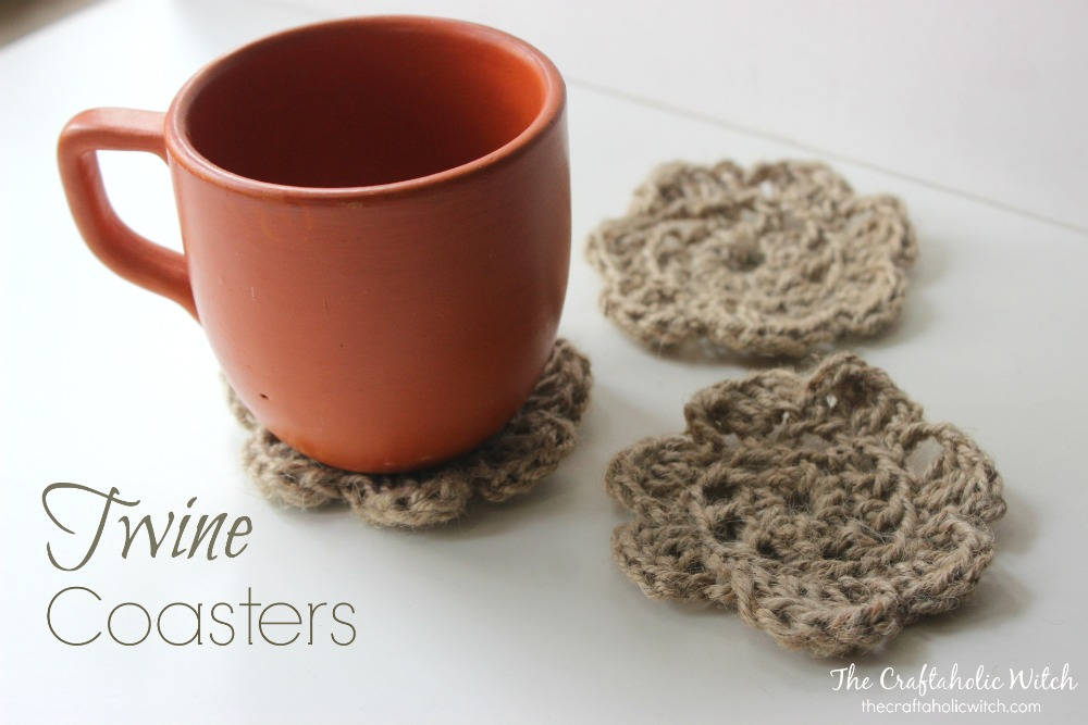 Easy to Crochet Twine Coasters