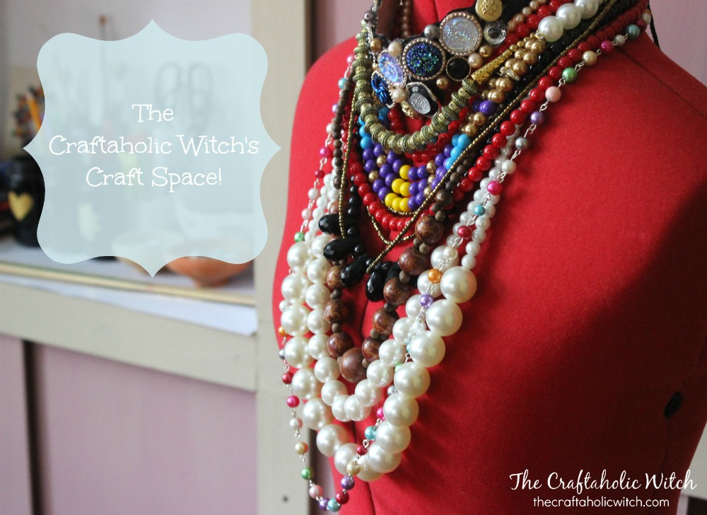 The Craftaholic Witch's Craft Space