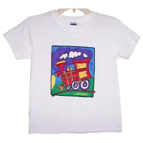 Train Kids Painting Kit