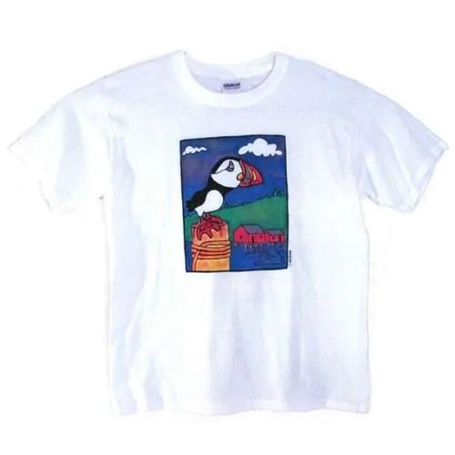 Puffin Design Kids T-Shirt