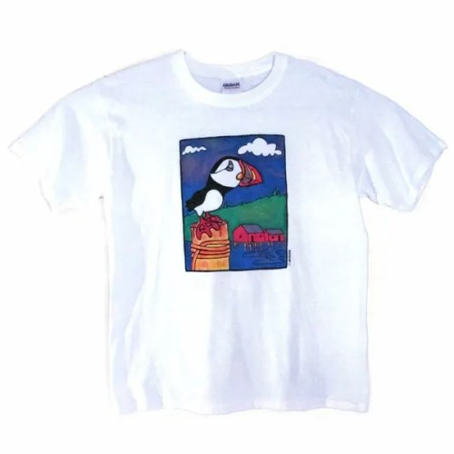 Puffin Design Kids T-Shirt