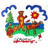 Bear Beaver Moose Pillowcase Kit