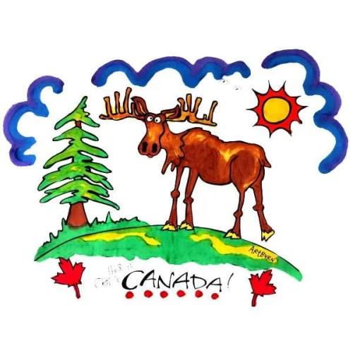 Moose Pillowcase Painting Kit