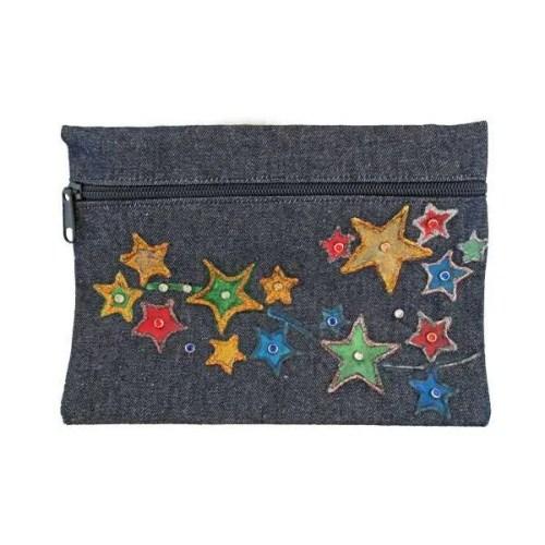 Stars Cosmetic Bag