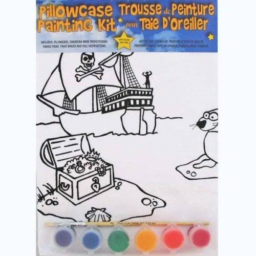 Treasure Chest Pillowcase Painting Kit