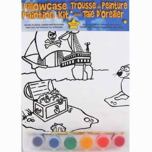 Treasure Chest Pillowcase Painting Kit