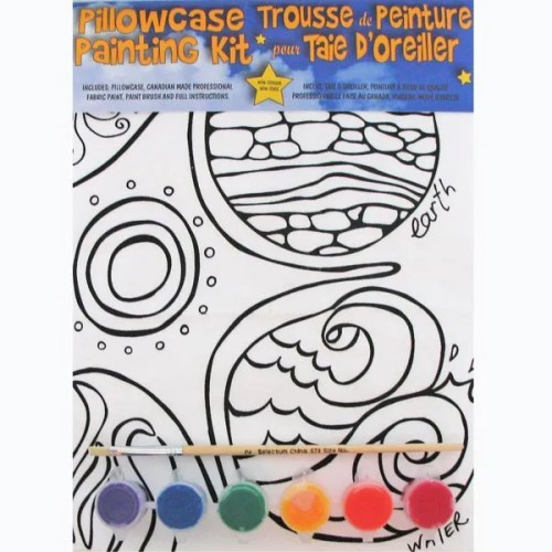Elements Pillowcase Painting Kit