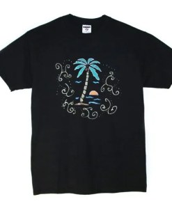 Coconut tree t-shirt