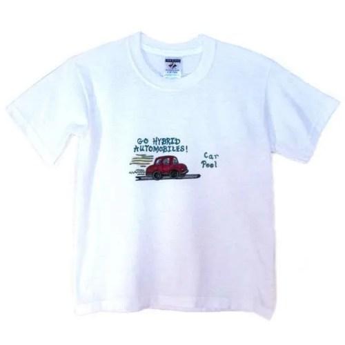 Hybrid Car Kids T-Shirt