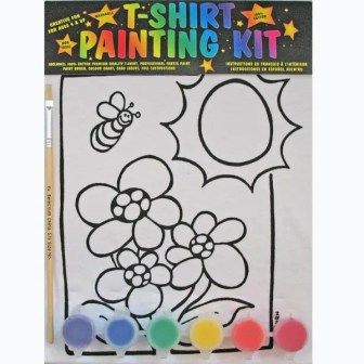 Flower-Power T-Shirt Painting Kit