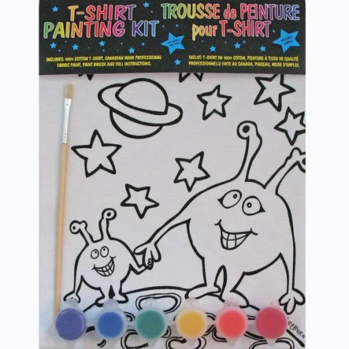 Kids Martians T-Shirt Painting Kit