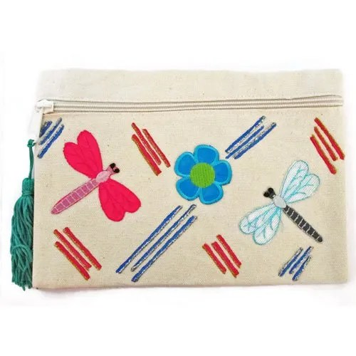 Dragon Fly Cosmetic Bag