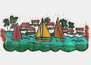 Boats-and-Houses close up
