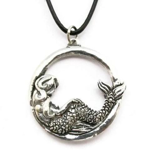 Mermaid Hoop Necklace