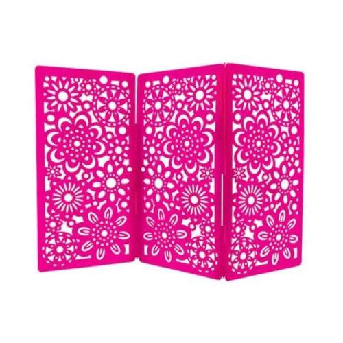 Earring Holdit pink open web