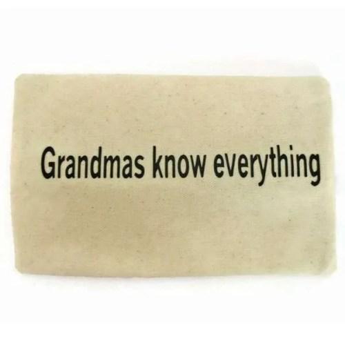 grandmas know everything pencil case