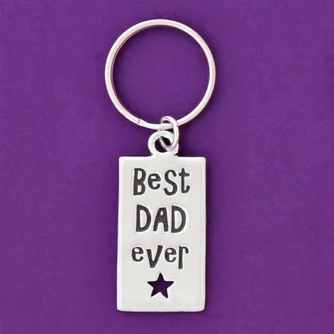 Best Dad Ever Keychain