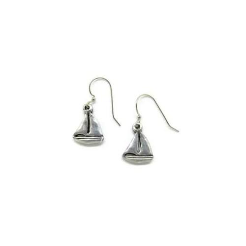 Small Sailboat Earrings