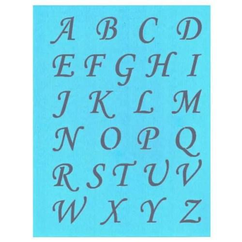 Alphabet Stencil