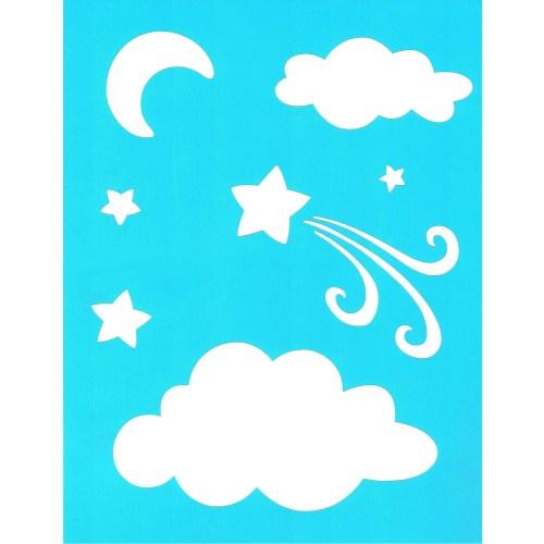 Clouds Stencil